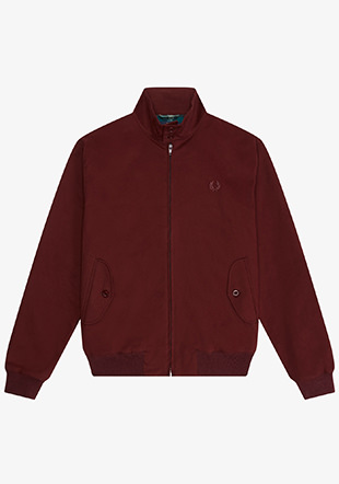Made In England Twill Harrington Jacket