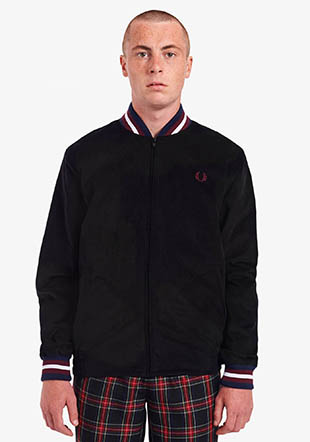Made In England Corduroy Tennis Bomber