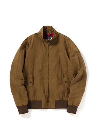 Reissues Made In England Waxed Harrington Jacket