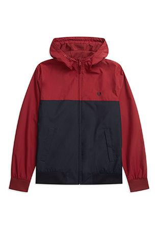 Hooded Paneled Brentham Jacket