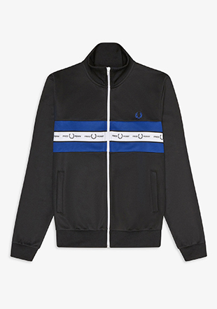 Taped Chest Track Jacket