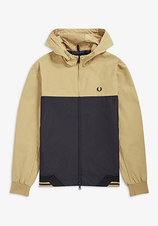 Colour Block Hooded Brentham