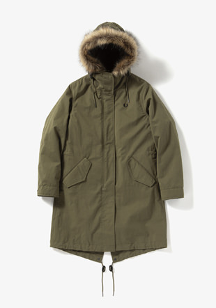 Women Zip In Liner Parka