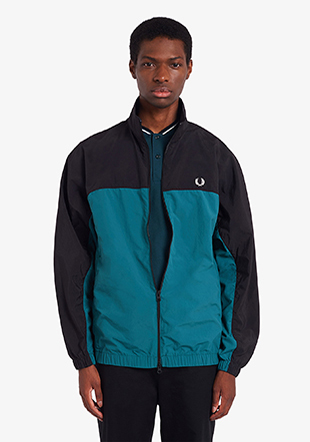 Colour Block Shell Jacket