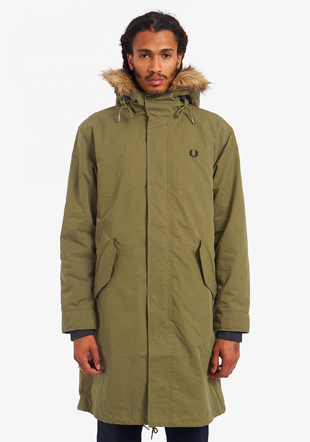 Men Zip In Liner Parka