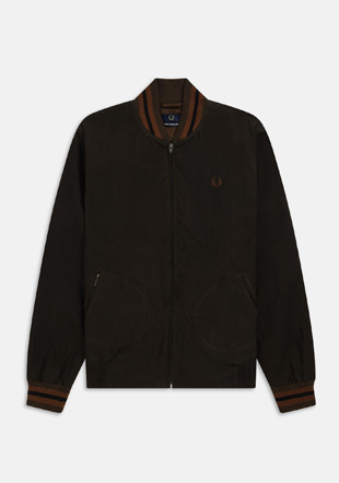 Made In England Waxed Bomber