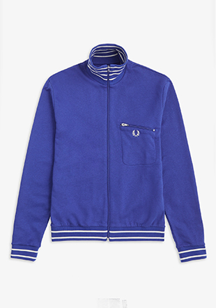 Reissues Striped Neck Track Jacket