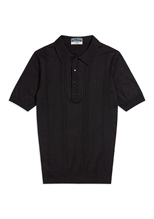 Reissues S / S Cable Knitted Shirt
