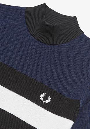 S/S Turtle Neck Jumper