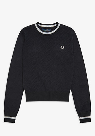 Texture Crew Neck Jumper