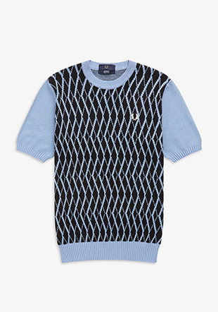Reissues S/S Archive Argyle Knit Jumper