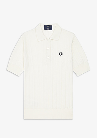 Reissues Pointelle Knit Polo Shirt