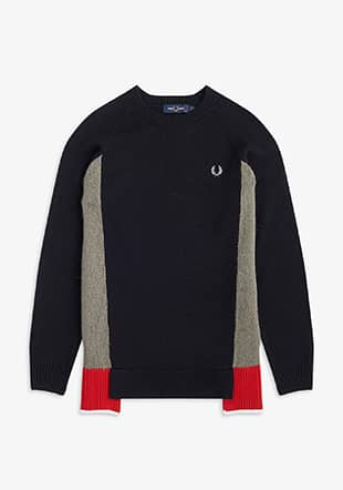Mixed Panel Jumper