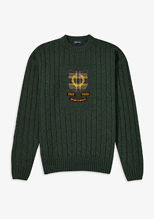 Shield Cable Knit Jumper