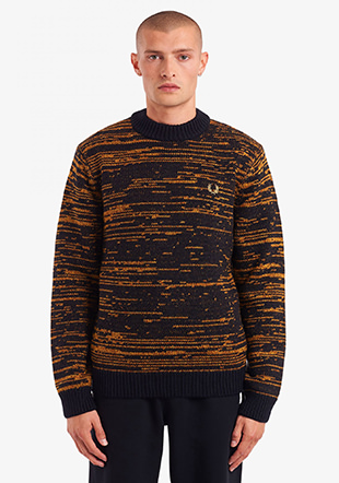 Space Dye Crew Neck Jumper