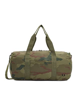 Arktis Camouflage Barrel Bag