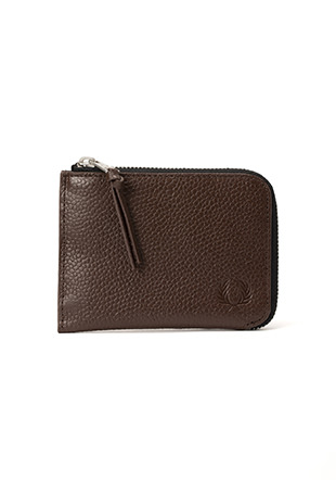 Scotch Grain Leather Zip Around Wallet