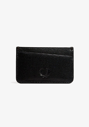 Contrast Internal Leather Card Holder