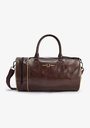Refined Pu Barrel Bag
