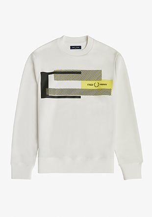 Mixed Graphic Sweatshirt
