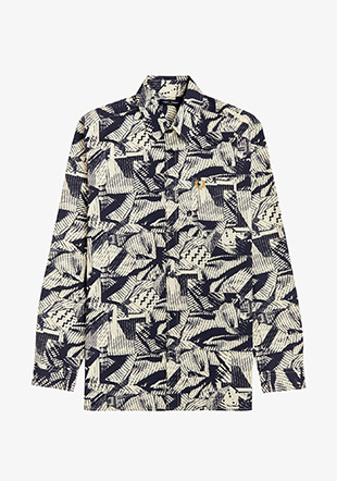 Abstact Print Overshirt