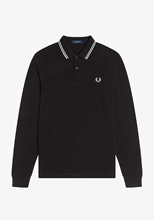 Long Sleeve Twin Tipped Shirt