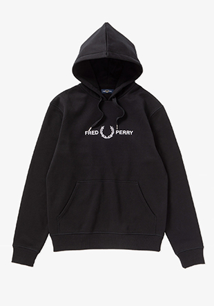 Graphic Hooded Sweat