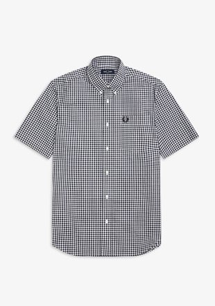 Printed Gingham Shirt