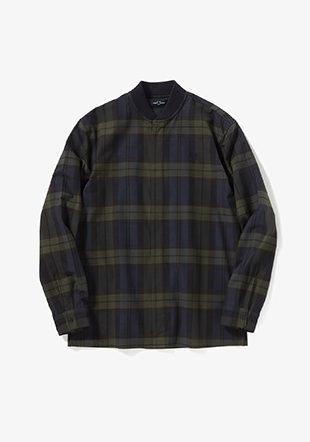 Tartan Zip-Through Shirt