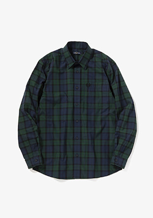 Button Through Tartan Shirt
