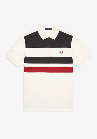 Tape Detail Polo Shirt