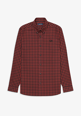 2 Colour Gingham Shirt