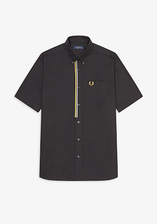 Taped Placket Shirt