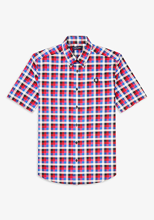 Four Colour Gingham Shirt