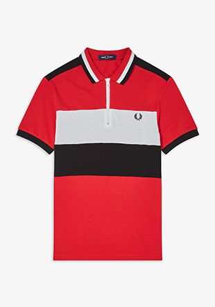 Chest Panel Polo Shirt
