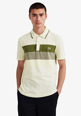 Reissues Mesh Panel Tennis Shirt