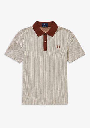 Reissues Vertical Striped Tennis Shirt