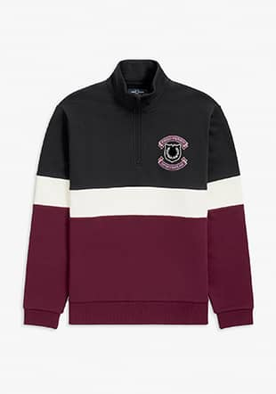 Shield Half Zip Sweatshirt