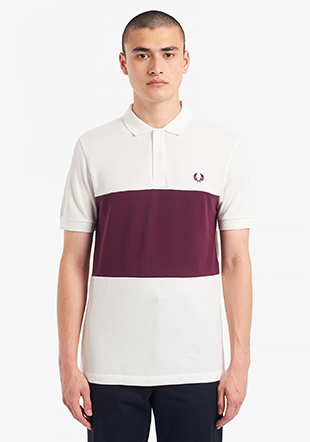 Colour Block Polo Shirt