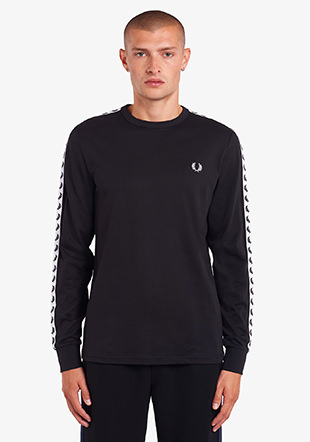 Taped Long Sleeve T-Shirt