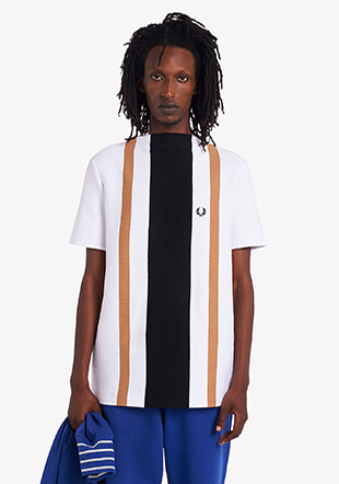 Reissues Bold Stripe Boat Neck Top