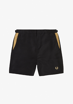 Contrast Panel Swimshort