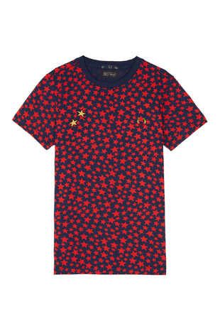 Bella Freud Star Print T-Shirt