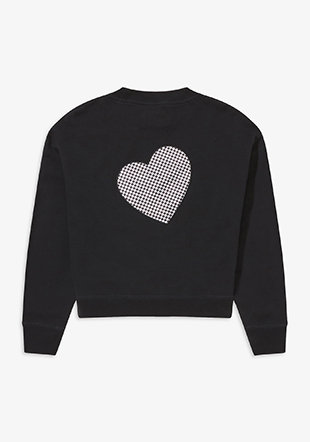 Amy Winehouse Heart Sweatshirt