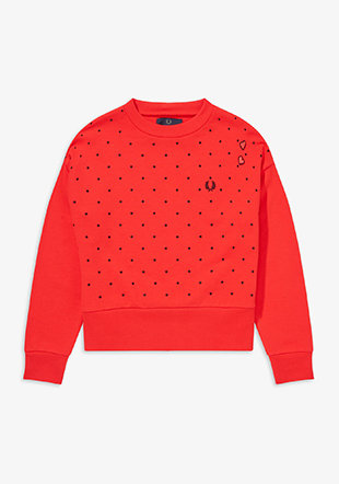 Amy Winehouse Polka dot Sweatshirt