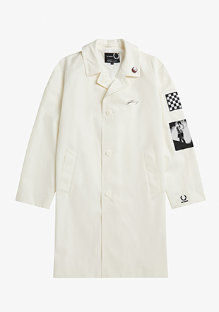 Raf Simons Graphic Patch Overcoat