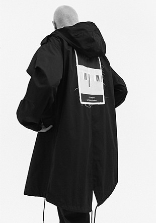 Goodhood Printed Patch Unlined Parka