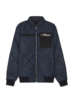 Thames Quilted Waxed Jacket