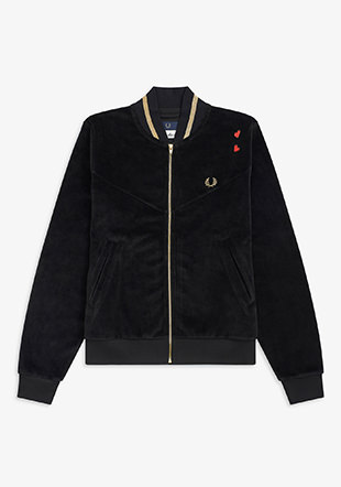 Amy Winehouse Tipped Bomber Jacket