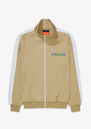 Laurel Wreath Patch Track Jacket